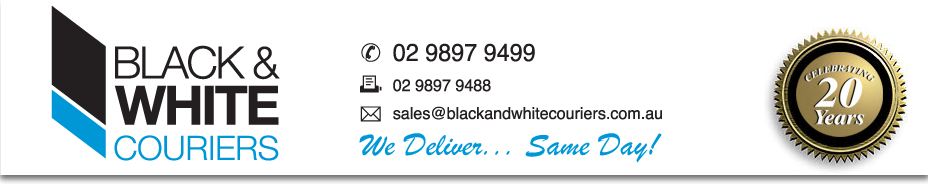 Black and White Couriers